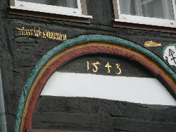 Date on old house of 1545