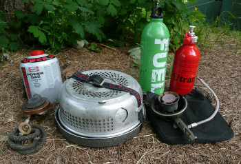 Picture of Complete cooking kit - Trangia Gas Burner, Stove & Multi-fuel Burner