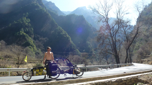 The prettier face of Western Sichuan (the scenery, not Keith!)