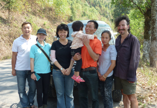 Keith with Susan & Toni and some of their fellow World Vision colleagues.