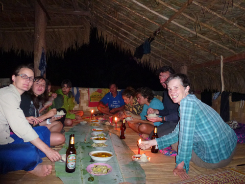 Our guides cooked us another excellent dinner and the Village Hilton proved just as comfortable as the Forest Hilton.
