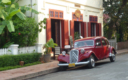 French chic in Luang Prabang