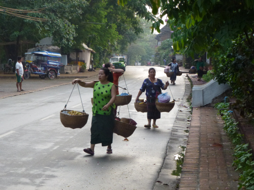Local Luang Prabang ladies.