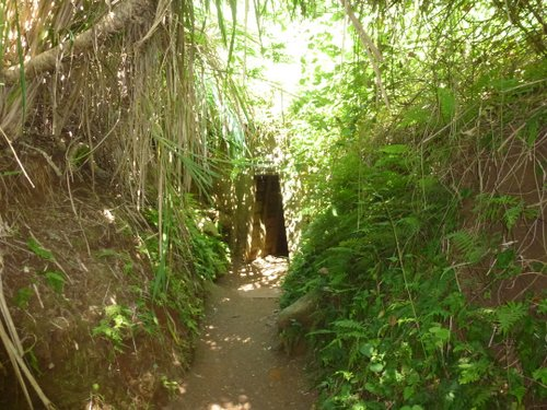 One of the Vinh Moc tunnel entrances