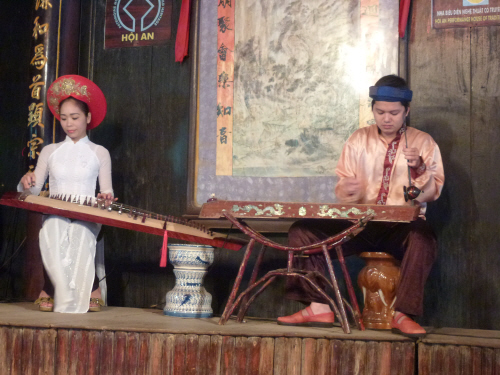 Traditional Hoi An musicians.