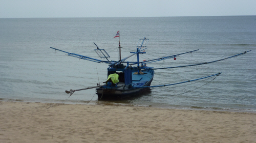 Thai fishing boat.