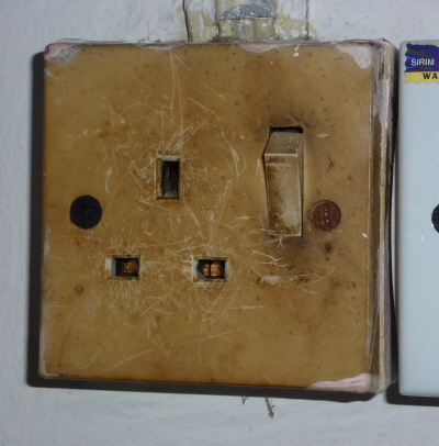 British sockets!  It's been a long time since we've used one of these.