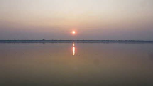 Mekong sunrise.
