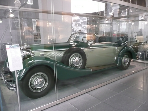 A Horch car at the Audi Museum in Ingolstadt.