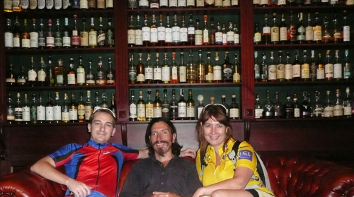 Yevgen, Keith & Elena in whisky heaven!