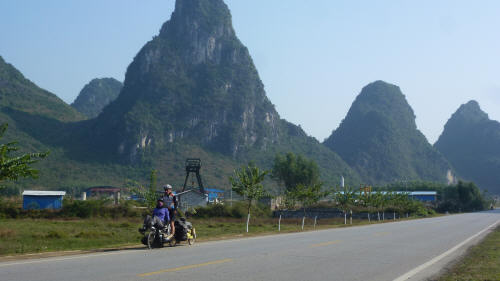 On the road again - Guangxi Province, China