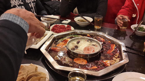 You haven't been to Chengdu until you had Sichuan hotpot