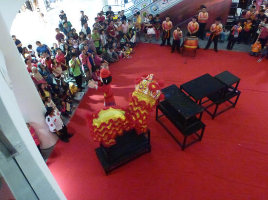Shopping Mall Lion Dance