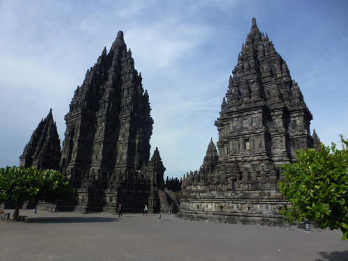 Prambanan temple, which Keith went to on his own as Tamar & Jerry were all templed out.