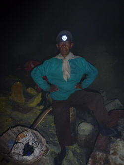 One of the elders of the mine (aged 64).
